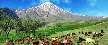 Иран. Восхождение на Демавенд, 5671 м + Точал (9 дней)