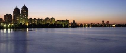 Сплав по ночному Киеву