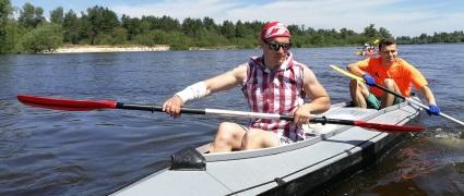 Сплав по Киеву. 4 реки за день