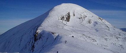 Зимнее восхождение на Говерлу, 2061 м